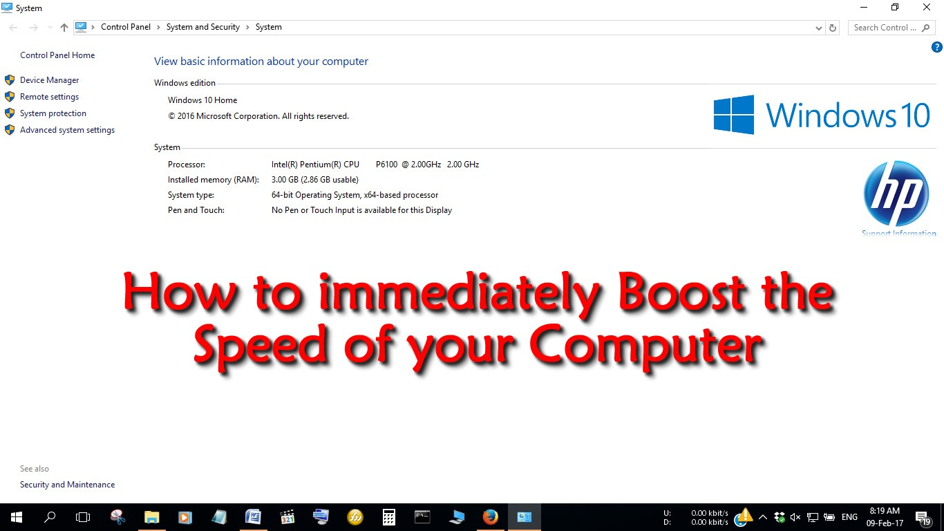 8 Things that will Immediately Speed up your Computer