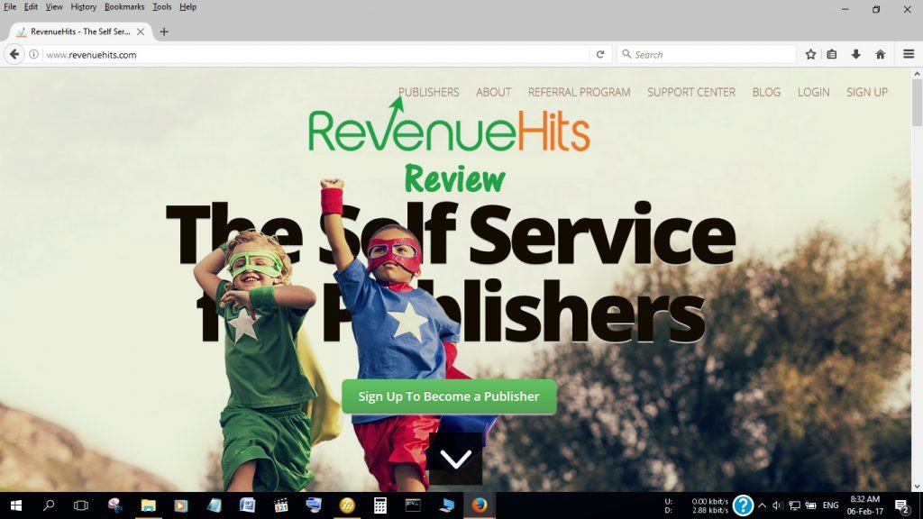 Revenue Hits AdSense Alternatives