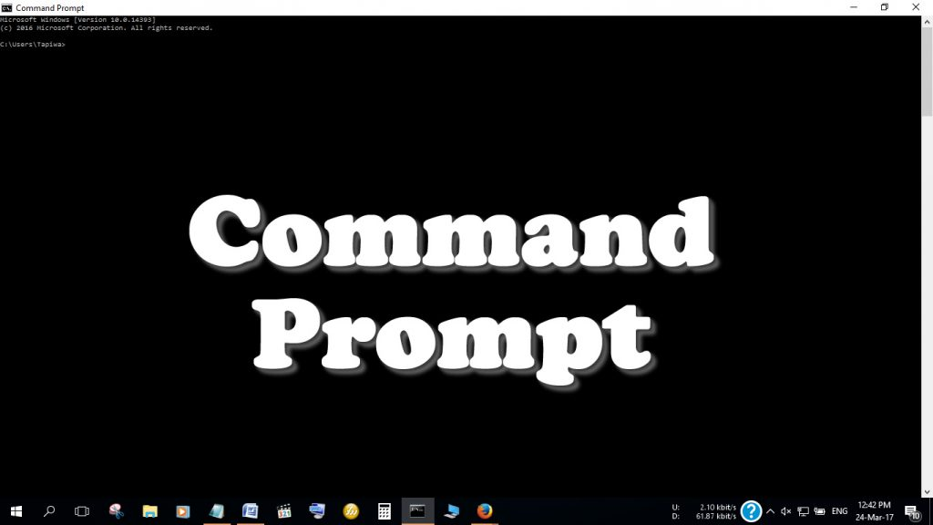How to Open Command Prompt: Its very easy