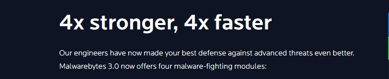 Malwarebytes is the best antimalware in the world.