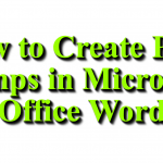 How to Create Page Jumps in Microsoft Office Word