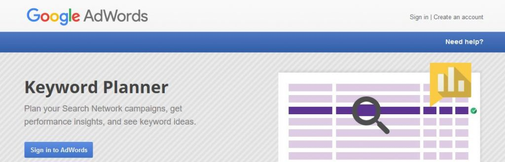 Keyword Planner is one of the best SEO tools that can be found out there