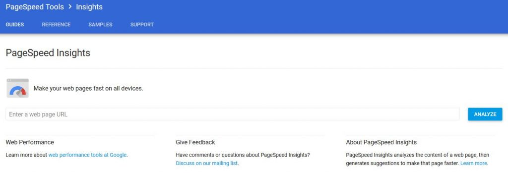 PageSpeed Insights is one of the best online SEO tools that are out there.