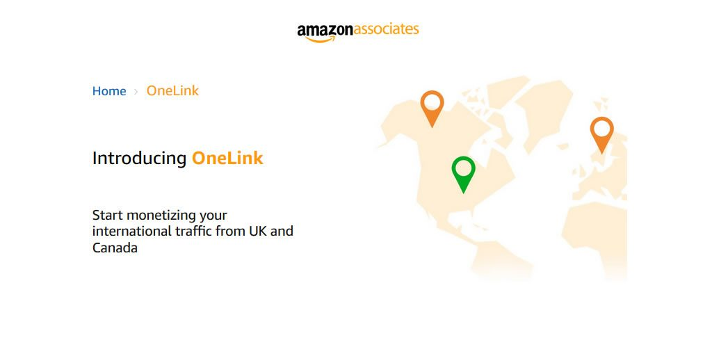 Amazon Associates OneLink introduces onTag, which allows affiliates to monetize international traffic