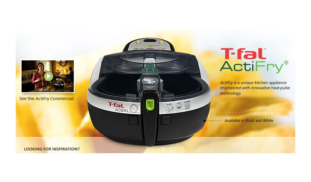 T-fal ActiFry (FZ7002) Low-Fat Healthy AirFryer Review
