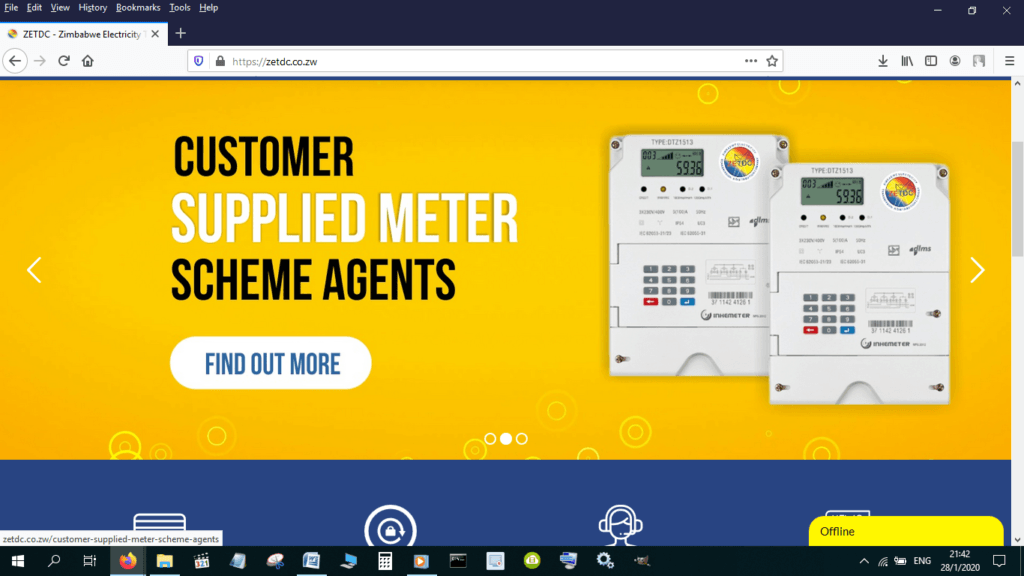 Cancel the Alarm on a Prepaid ZESA Electricity Meter