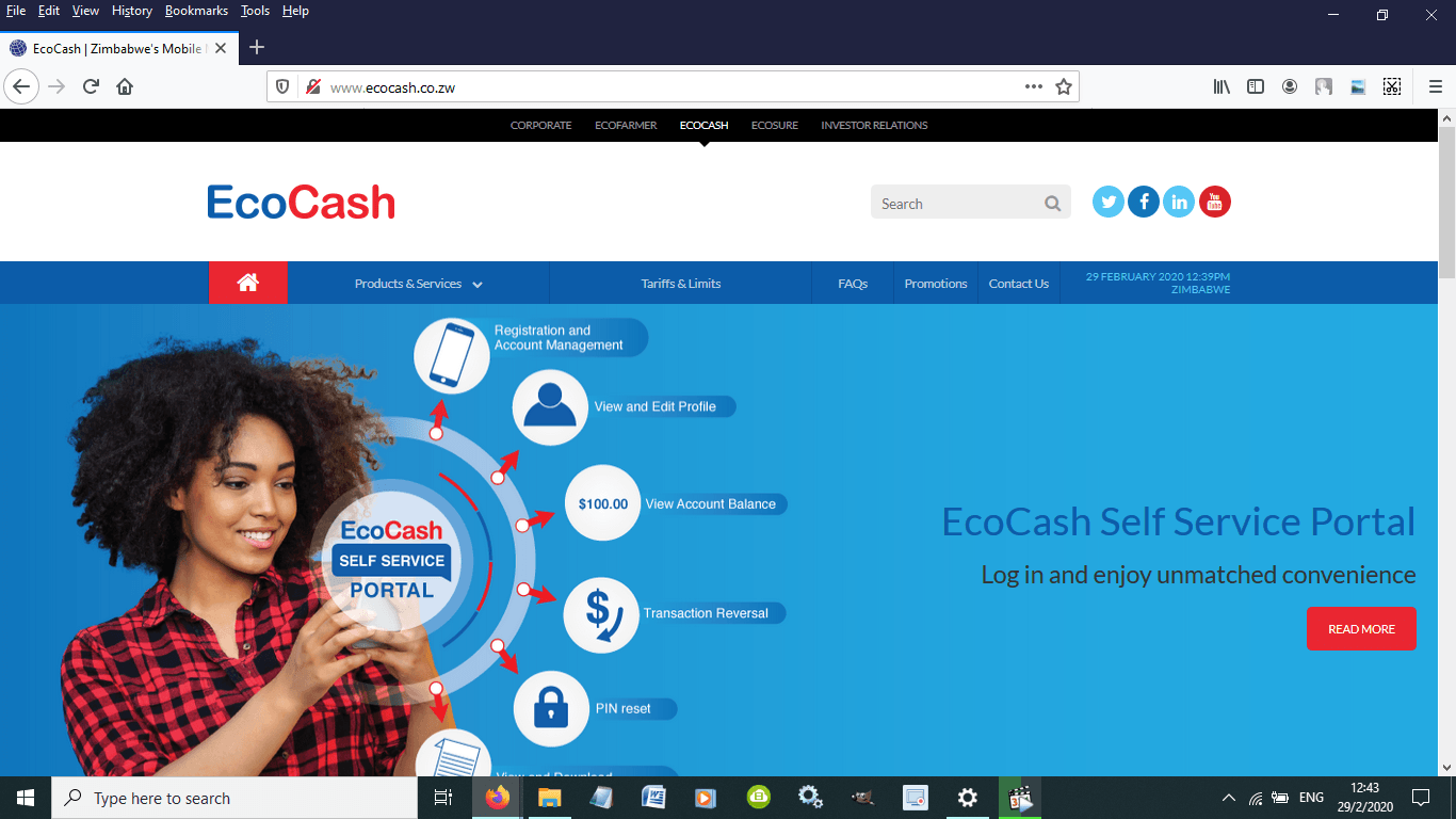 How to Transfer Money from FBC to ECOCASH