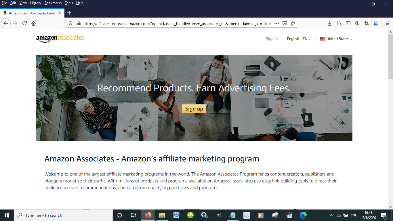Is there an Amazon Associates Mobile App for Android and iPhones?