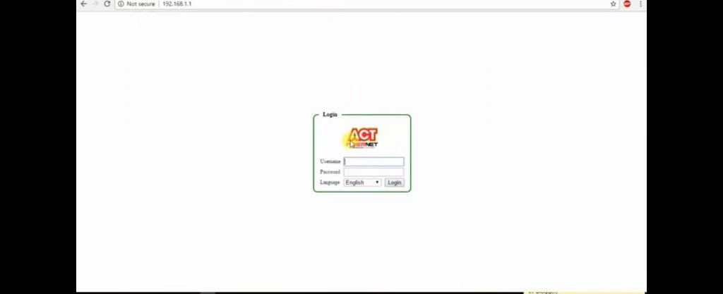 How to Change ACT Fibernet WiFi Password