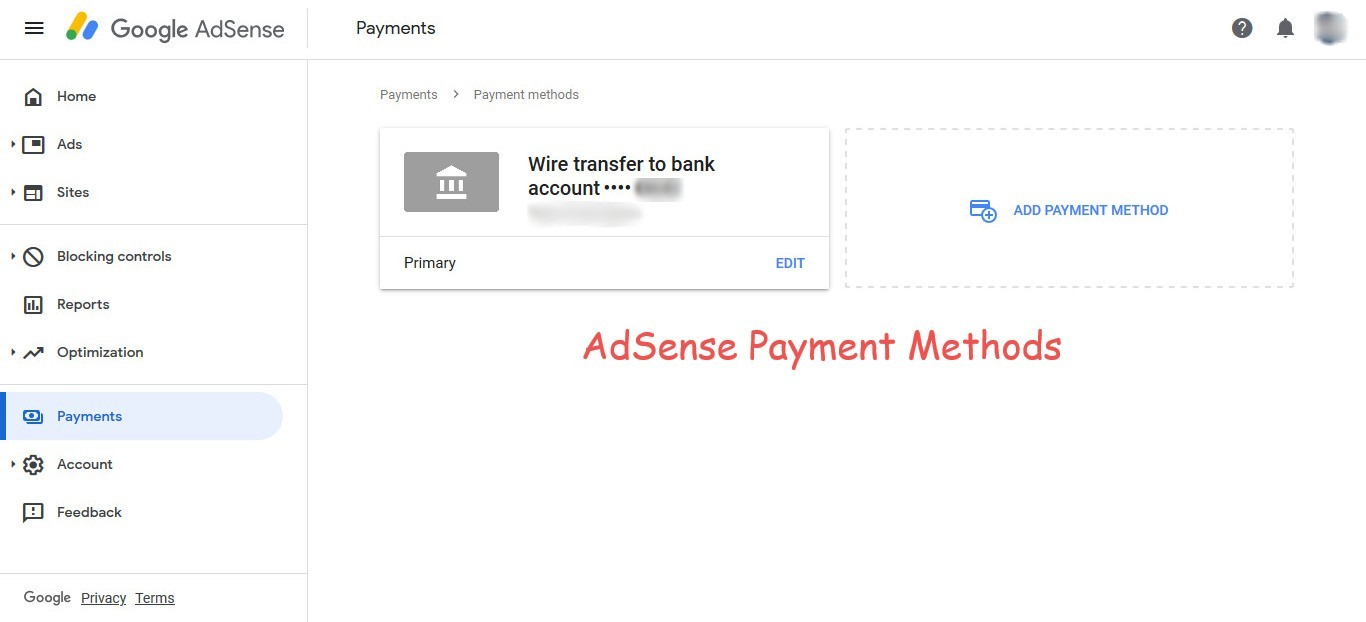 AdSense Payment Methods for Google Publishers