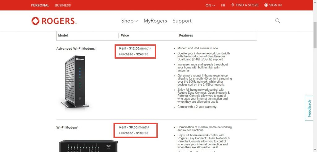 Can I use my own router with Rogers?