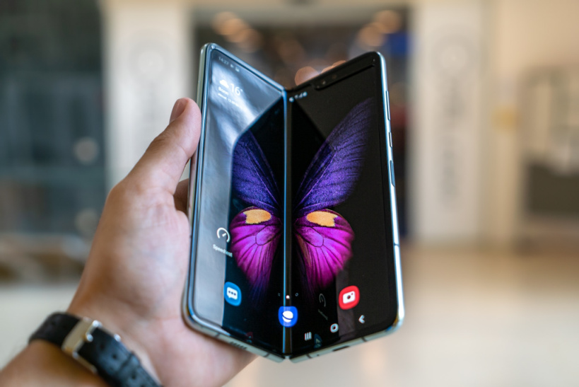 Activating voicemail on Galaxy fold